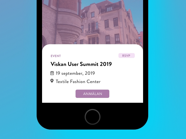 Viskan User Summit 2019